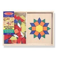 Sabloane si forme geometrice din lemn Melissa and Doug