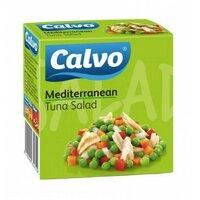 Salata mediteraneana cu ton Calvo 150gr