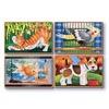 Set 4 puzzle lemn in cutie Animale de companie Melissa and Doug