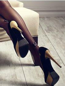 Ciorapi cu dunga Patrizia Gucci G02 for Marilyn 20 den