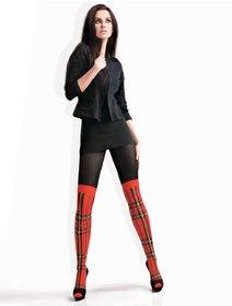 Ciorapi bumbac imitatie jambiere Lores Scotland 150 den