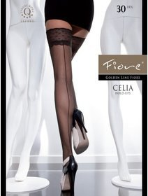 Ciorapi cu banda adeziva Fiore Celia 30 den