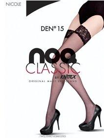 Ciorapi cu banda adeziva Knittex Nicole 15 den