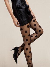 Ciorapi cu buline mari Fiore Giulietta 20 den