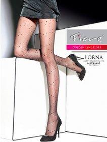 Ciorapi cu fir metalizat Fiore Lorna 20 den