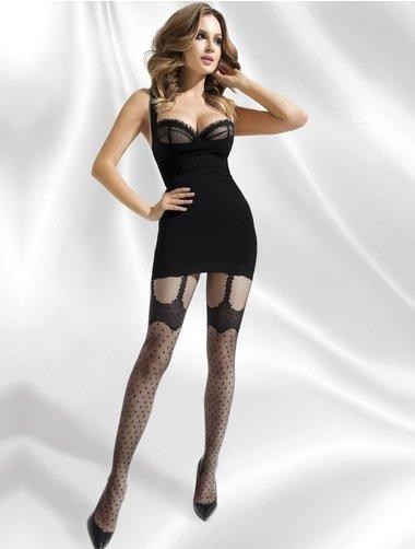 Ciorapi cu model Annes Serena 20 den
