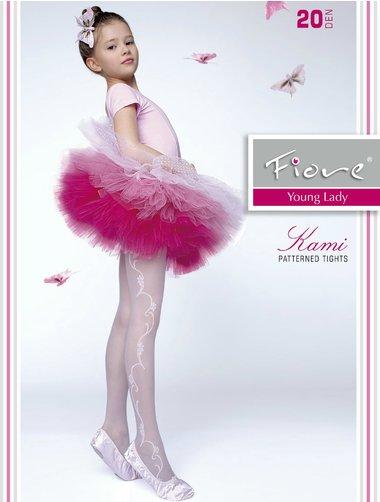 Ciorapi cu model Fiore Kami 20 den