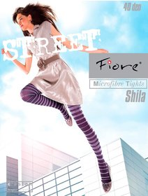 Ciorapi cu model Fiore Shila 40 den