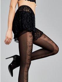 Ciorapi cu model jacard Fiore Belle 40 den