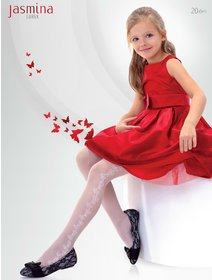Ciorapi cu model Knittex Jasmina 20 den