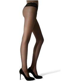 Ciorapi cu talie joasa dantelata Marilyn Erotic Vita Bassa 15 den