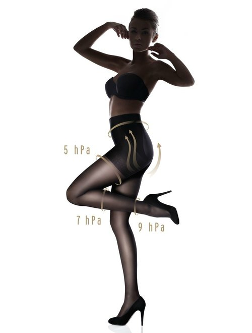 Imagine Ciorapi Modelatori Cu Push-up Marilyn Plus Up 40 Den