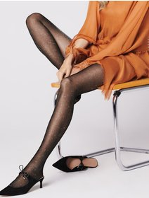 Ciorapi cu fir metalizat Fiore Veronica 20 den