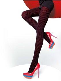 Ciorapi melange cu dungi colorate Fiore Xara