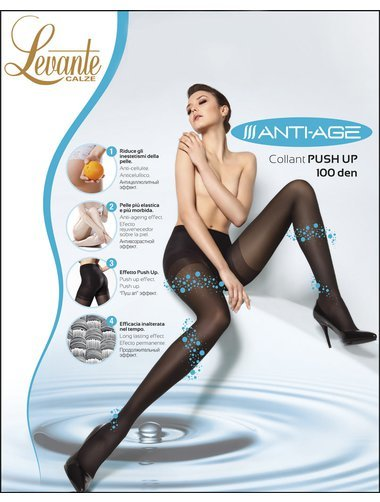 Ciorapi modelatori Levante Anti-Age Push-Up 100 den