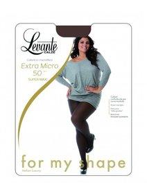 Ciorapi pantaloni marimi mari Levante Extra Super Maxi 50 den