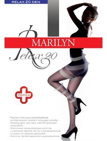 Ciorapi compresivi (3.75-6.75 mmHg) Marilyn Relax 20 den