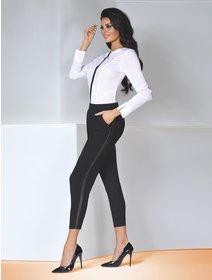 Colanti stil pantaloni eleganti Bas Bleu Antonina 200 den