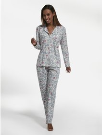 Pijamale Cornette Flowers 3 682/196
