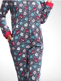 Pijamale salopeta Cornette Owl 107/171