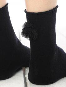 Sosete cu accesoriu dantelat Socks Concept SC-1735