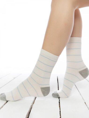 Sosete cu dungi fine subtiri Socks Concept BRG620