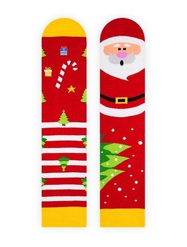Sosete cu model unisex Nanushki Not So Santa