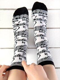 Sosete cu note muzicale Socks Concept SC-1785