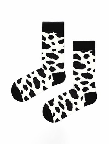 Sosete cu pete The Happy Toe Black Spots