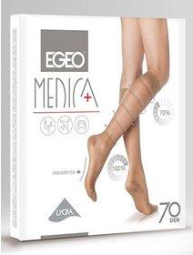 Sosete lungi compresive (12-17 mmHg) Egeo Medica 70 den