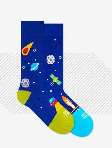 Sosete model unisex Nanushki Fly Me to The Moon