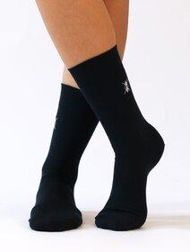 Sosete pantofi din bumbac cu logo romb Wola W94.J01