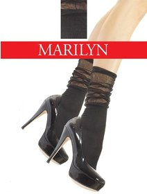 Sosete scurte cu model Marilyn Riffle 961 60 den