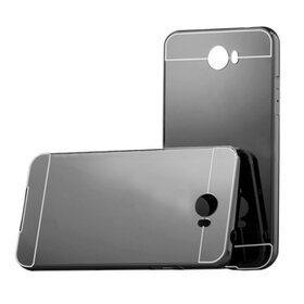 Aluminium Mirror pentru Huawei y5 II Gunmetal