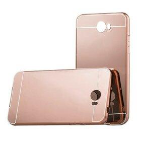 Aluminium Mirror pentru Huawei y5 II Rose Gold