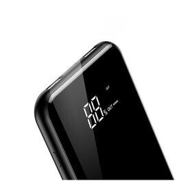 Baterie externa de 8000 mAh cu Incarcare Wireless + 2 porturi USB