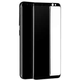 Folie de sticla cu margini negre PREMIUM pentru Galaxy S9 Black