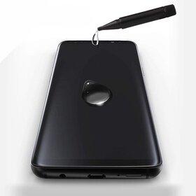 Folie de sticla Premium cu Nano Lichid UV pentru Galaxy S9+