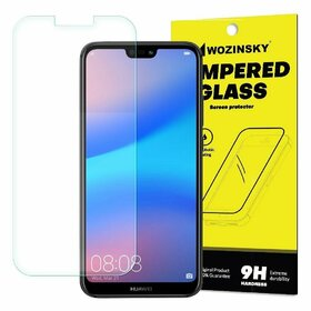 Folie de sticla - Tempered Glass - Transparenta pentru Huawei P20 lite Transparent