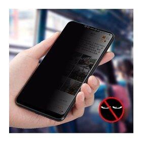 Folie Privacy - Anti spionaj - pentru Galaxy A80 NEGRU