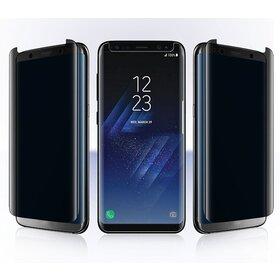 Folie Privacy - Anti spionaj - pentru Galaxy S8 NEGRU