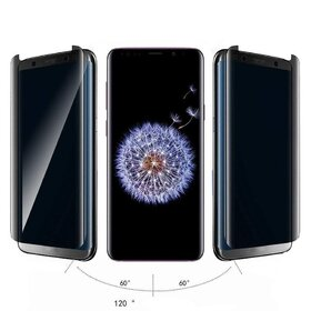 Folie Privacy - Anti spionaj - pentru Galaxy S9 NEGRU