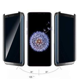 Folie Privacy - Anti spionaj - pentru Galaxy S9 Plus NEGRU