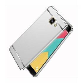 Husa 3 in 1 Luxury pentru Galaxy A3 (2017) Silver