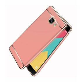 Husa 3 in 1 Luxury pentru Galaxy A3 (2017) Rose Gold