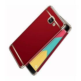 Husa 3 in 1 Luxury pentru Galaxy A3 (2017) Red