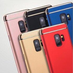 Husa 3 in 1 Luxury pentru Galaxy A6 Plus (2018)