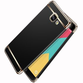 Husa 3 in 1 Luxury pentru Galaxy A7 (2017) Black