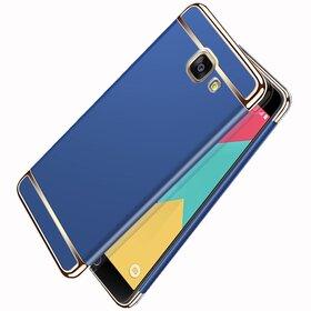 Husa 3 in 1 Luxury pentru Galaxy A7 (2017) Blue