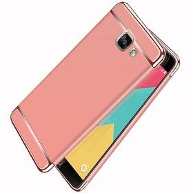 Husa 3 in 1 Luxury pentru Galaxy A7 (2017) Rose Gold